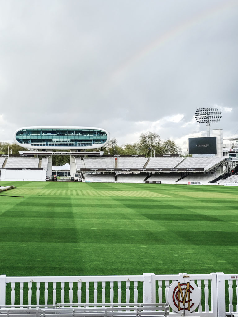Lords's The Home of Cricket.